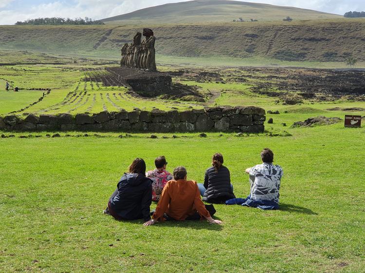 Moais Ilha de Pascoa Rapa Nui