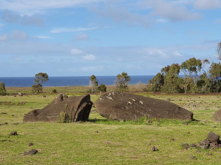 Moais Ilha de Pascoa