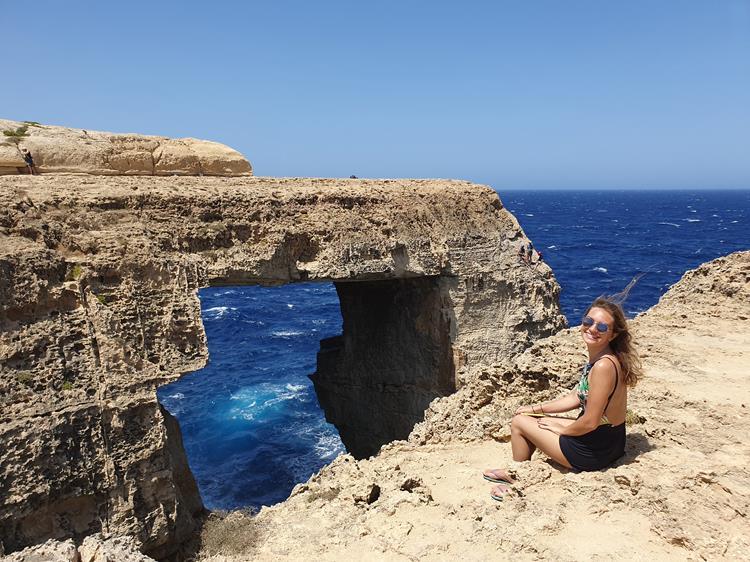 Blue Window Malta