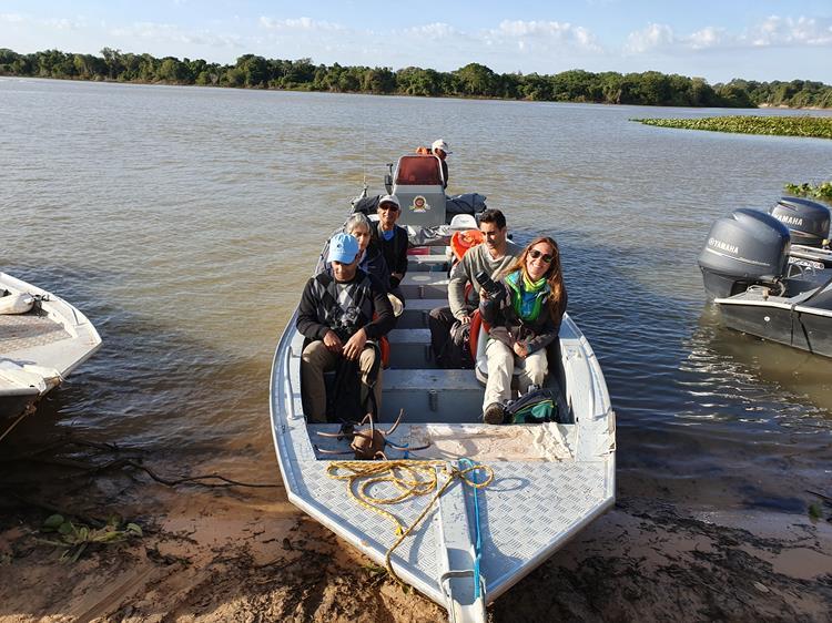 Safari no rio Cuiabá