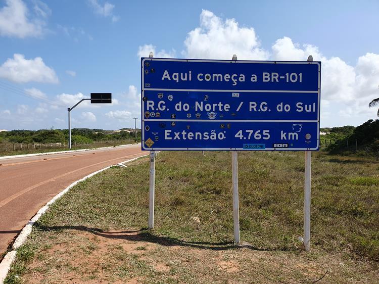 marco zero BR 101