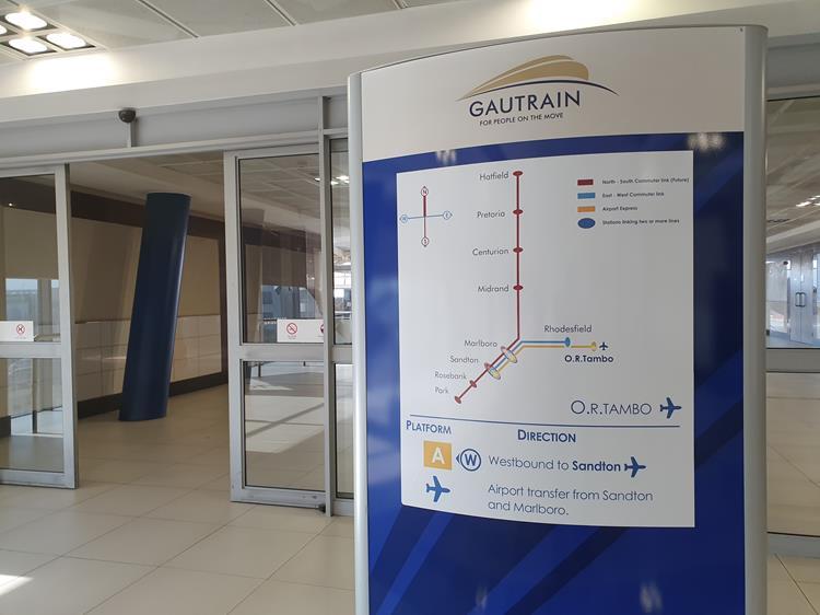 linhas da Gautrain