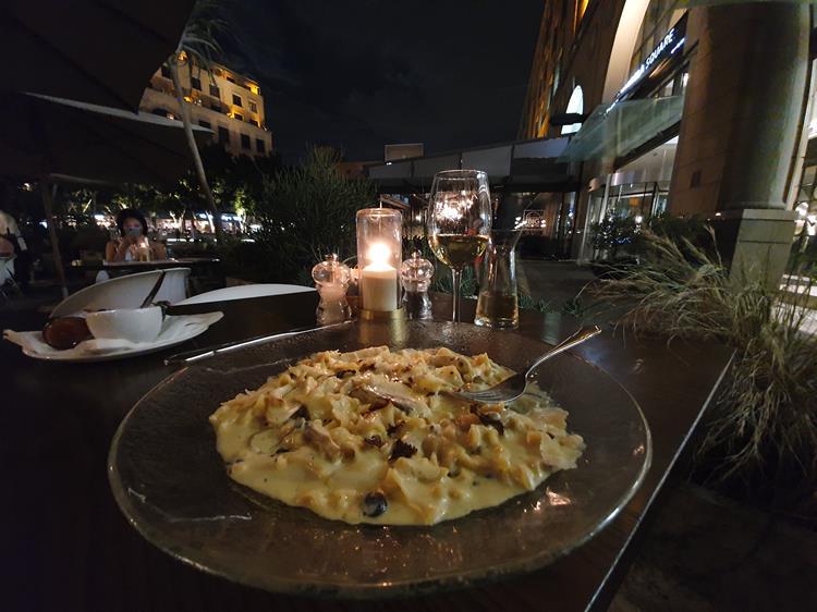 Restaurante Tashas em Johasnesburgo