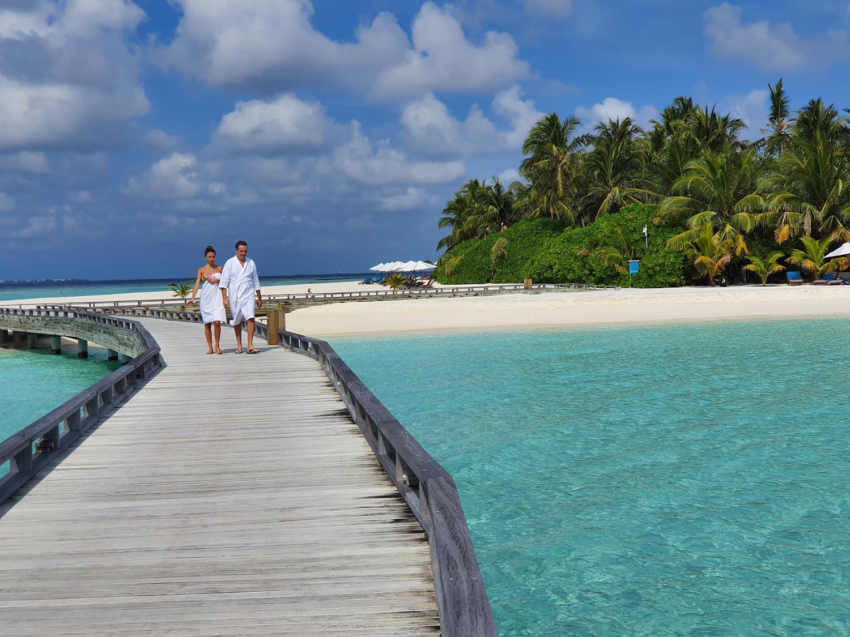 Spa Resort nas Maldivas