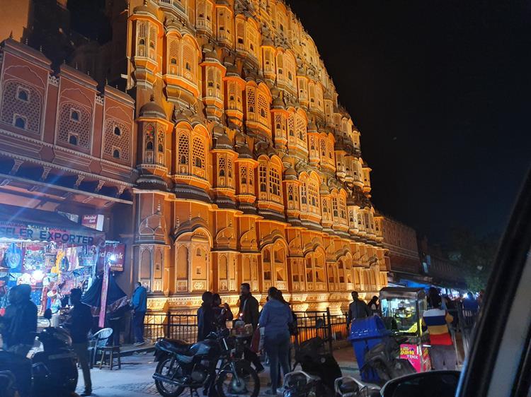 Palácio dos Ventos Jaipur