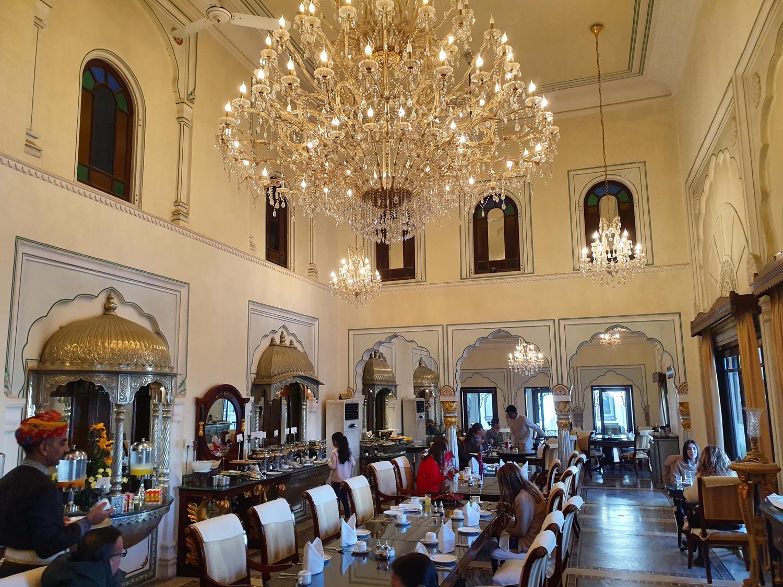 Restaurante bom em Jaipur