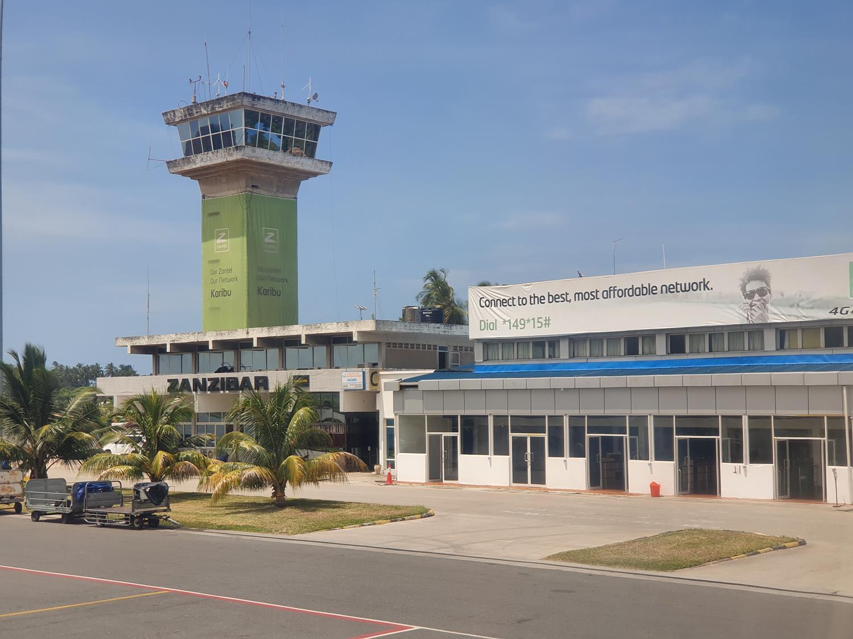 aeroporto em zanzibar