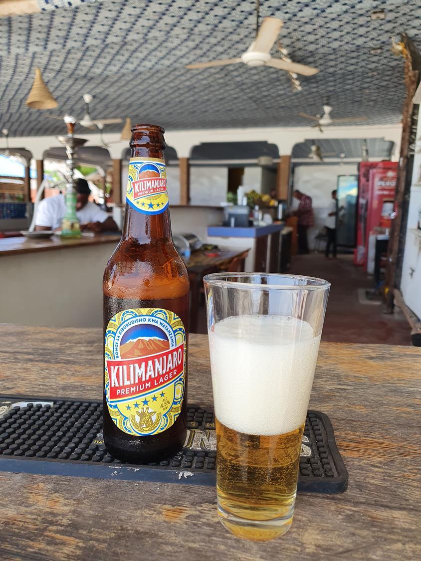 cerveja kilimanjaro