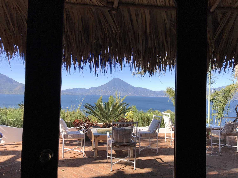 onde ficar no lago Atitlan