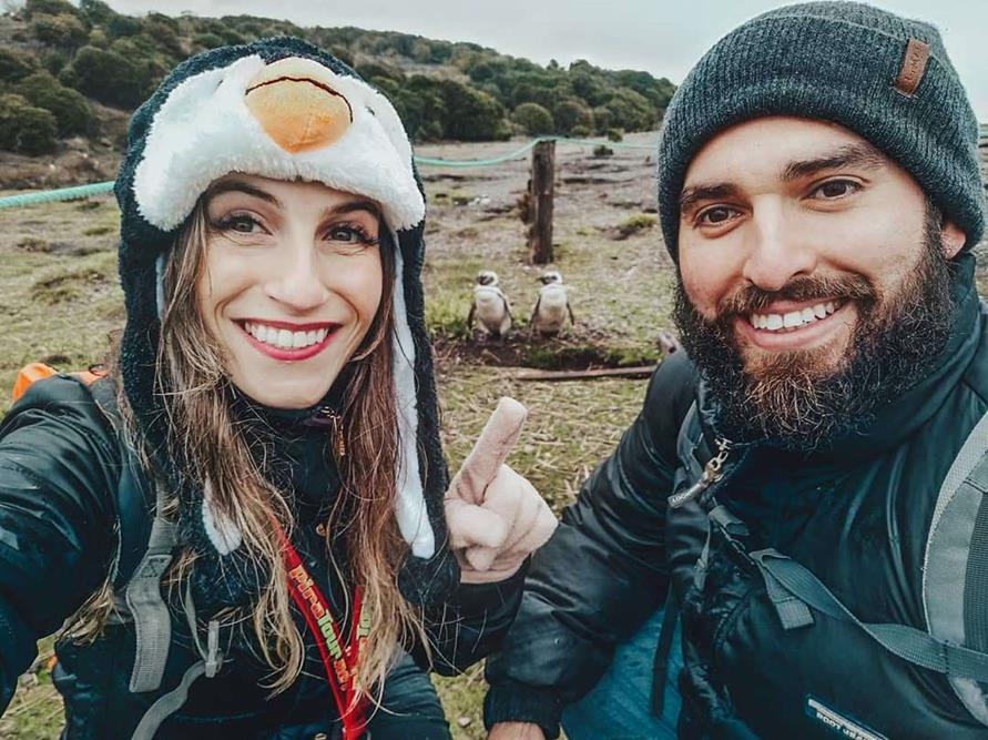Canal de Beagle e Pinguins em Ushuaia