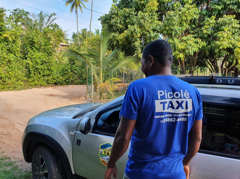 taxi em Barra Grande
