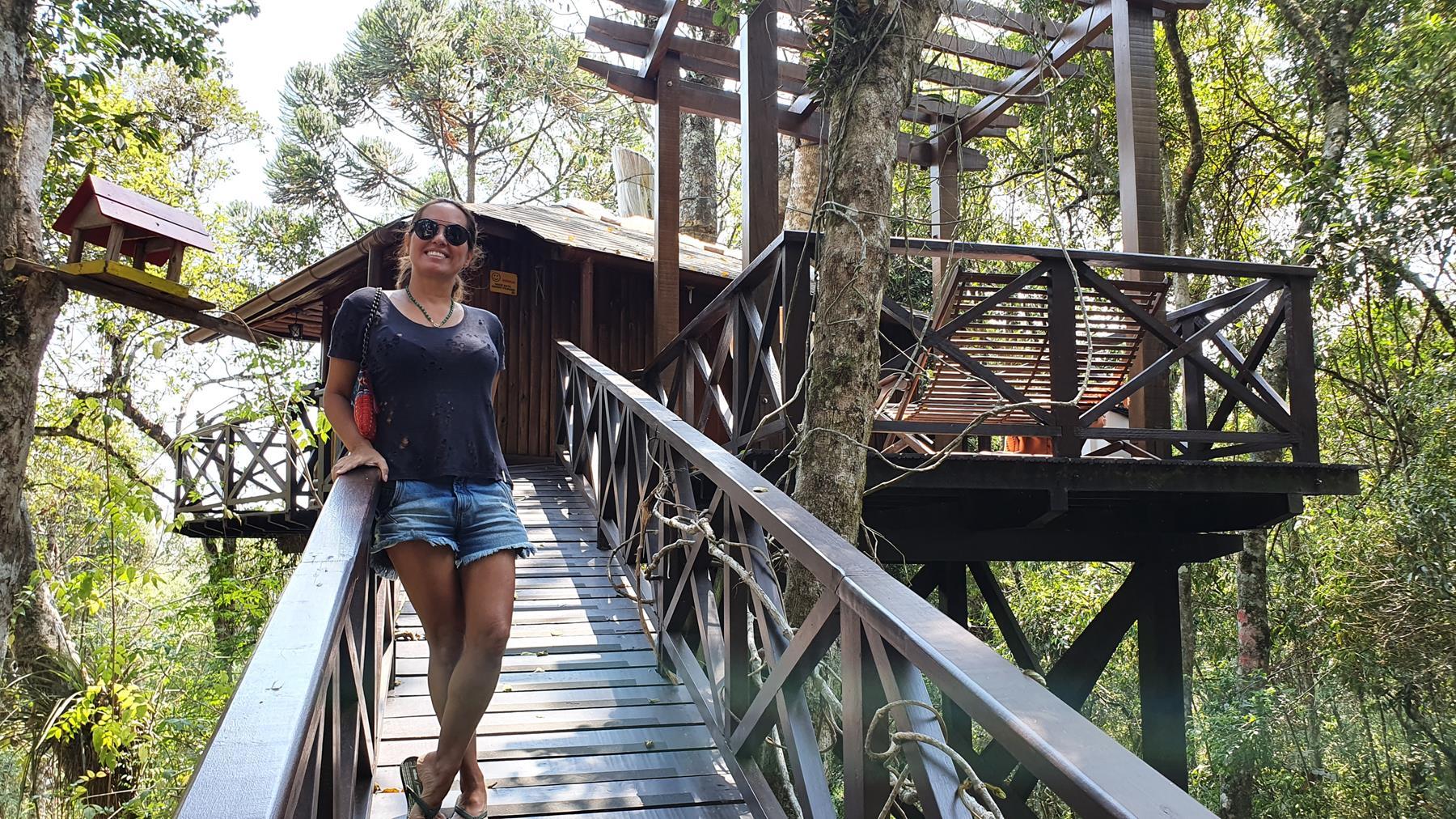 Casa da árvore em Monte Verde