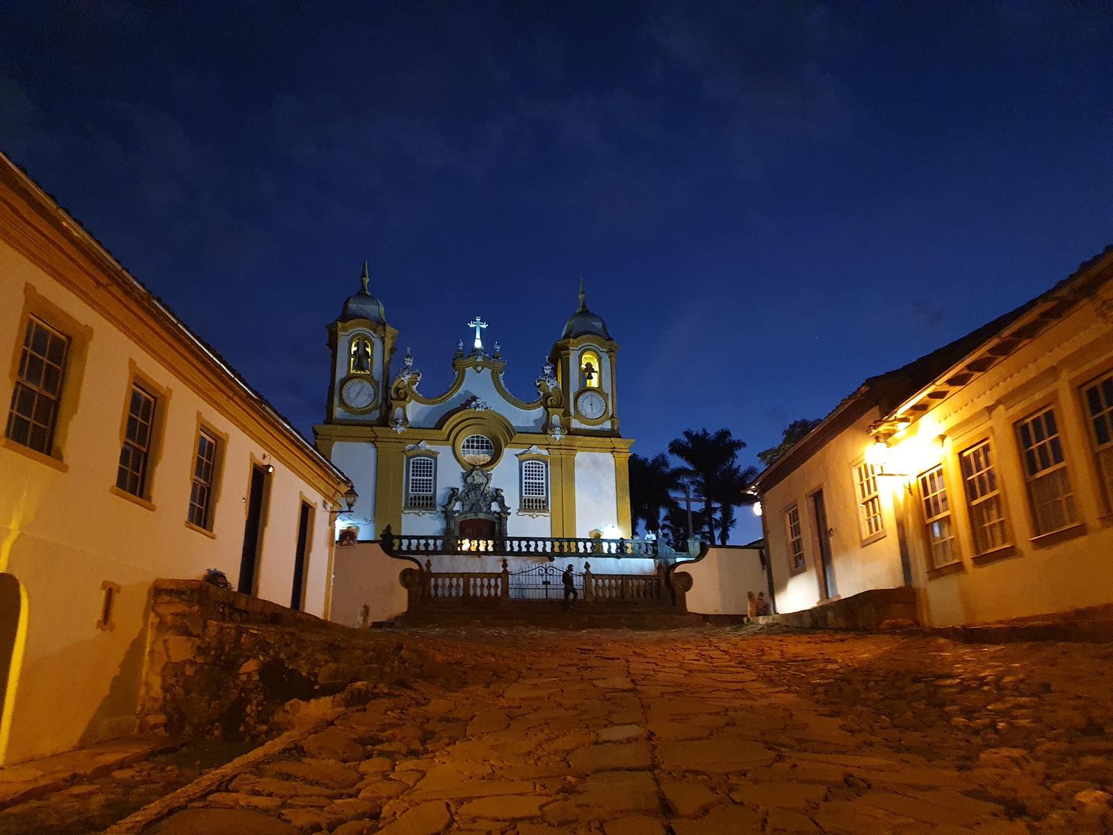 Igreja barroca tiradentes