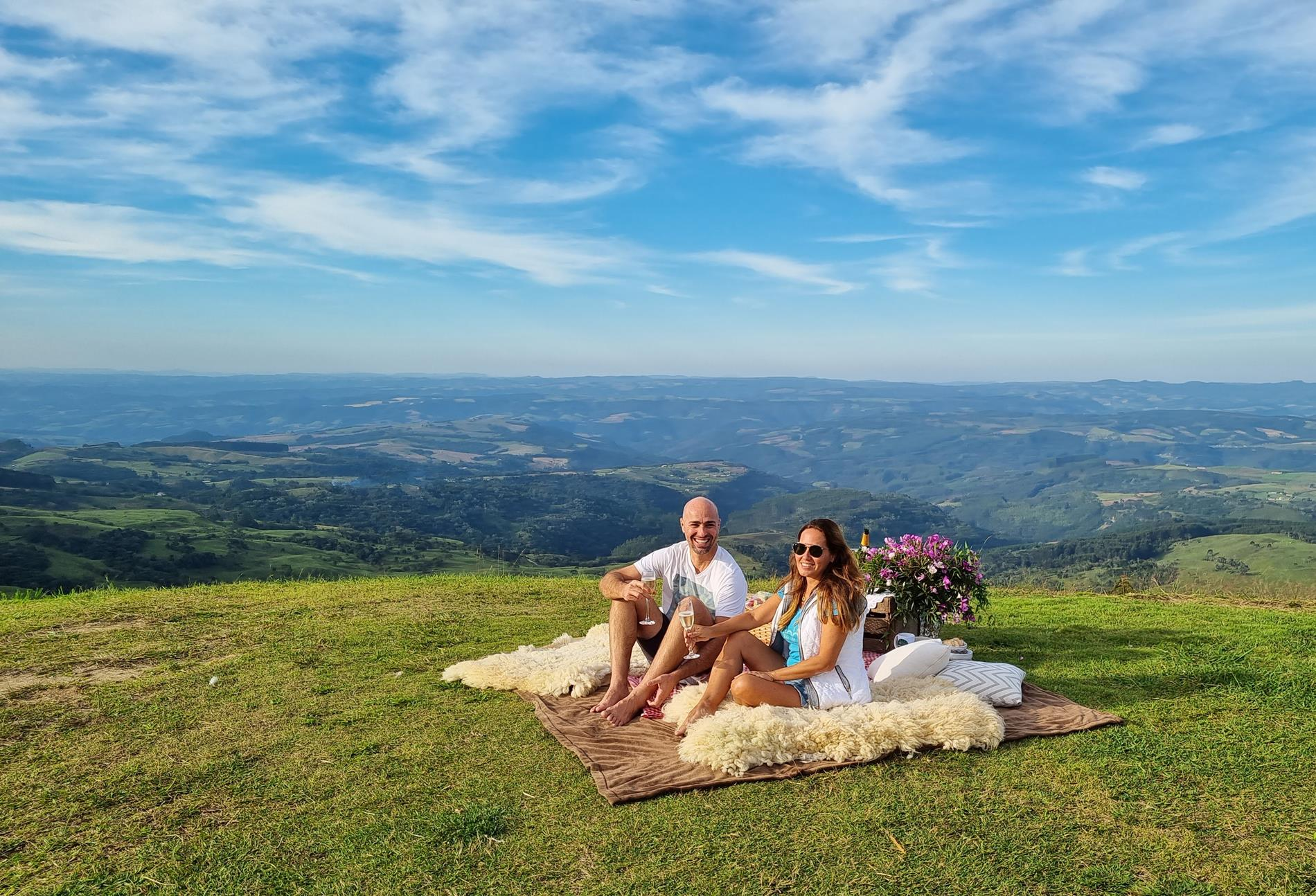 picnic na montanha
