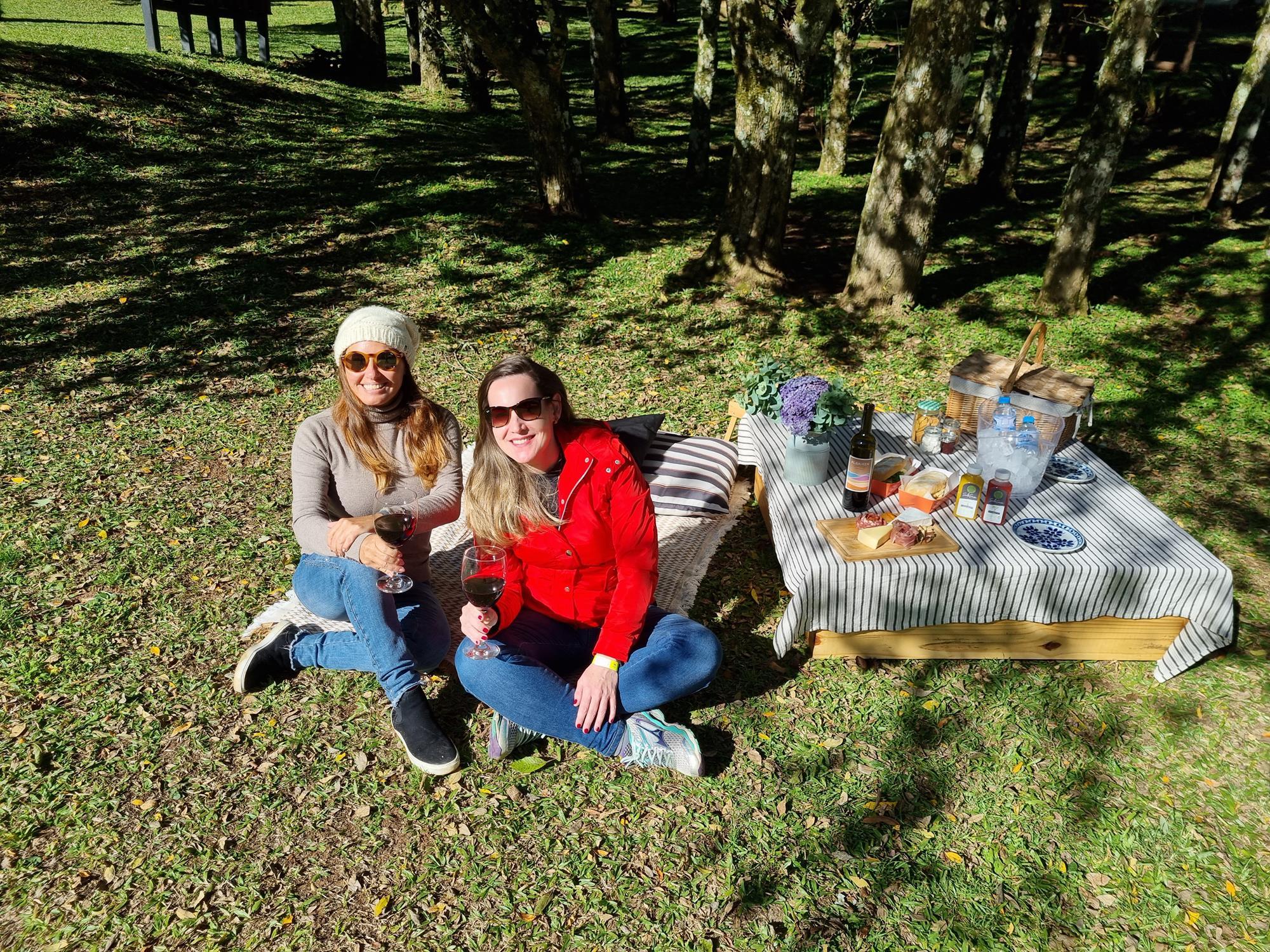 picnic no Buraco do Padre